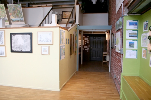 Gallery Interior (front to back)