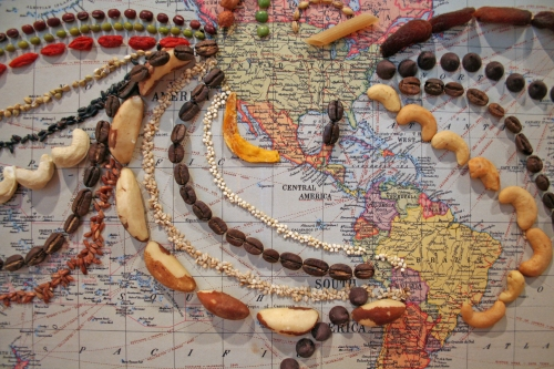 International Food Map by Katherine Ball (detail)