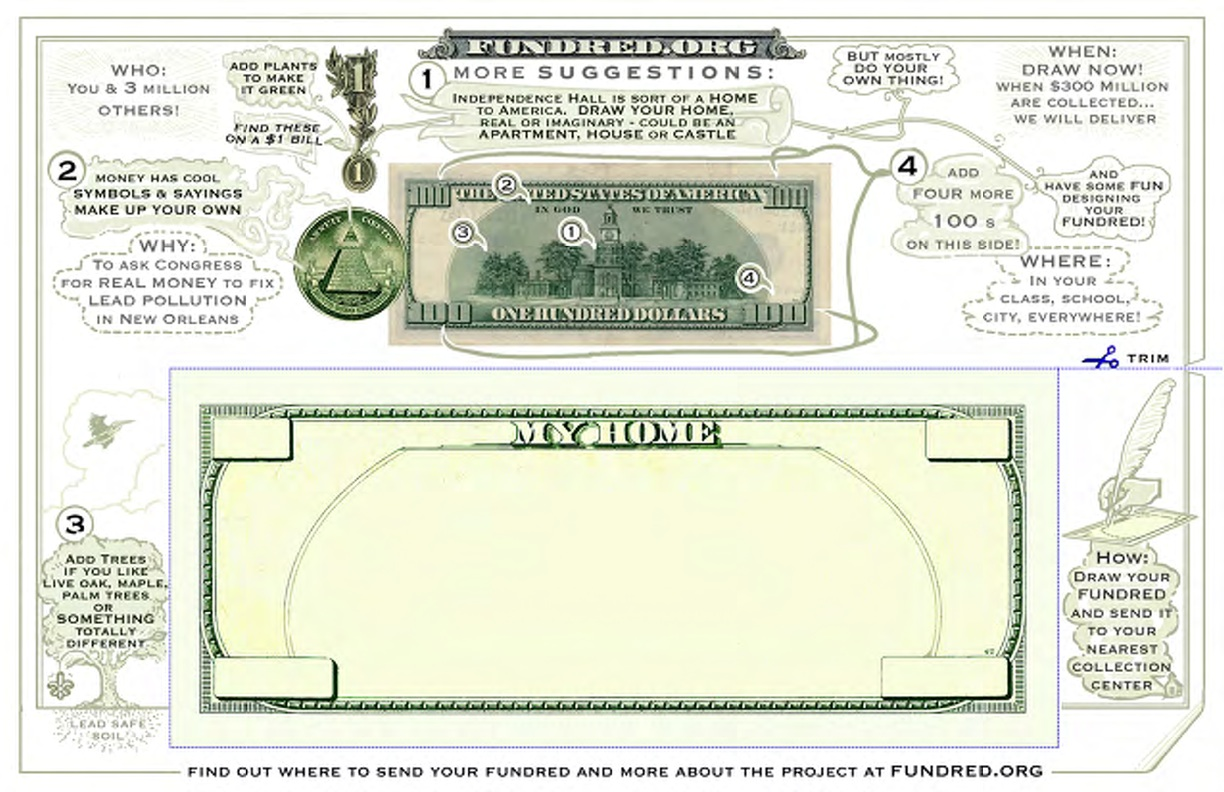 50 Dollar Bill Template The fundred dollar bill